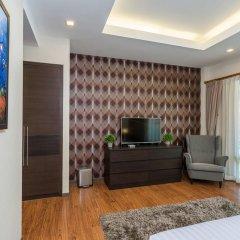 Отель The Ville Pool Villa Jomtien 3* Вилла с различными типами кроватей фото 15