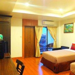 Апартаменты Chaba Garden Apartment Стандартный номер с различными типами кроватей фото 8