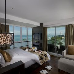 Отель A-One Pattaya Beach Resort 4* Номер Делюкс с различными типами кроватей фото 10