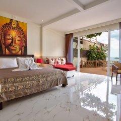 Отель Crystal Bay Beach Resort 3* Номер Делюкс с различными типами кроватей