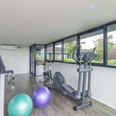 Отель Dlux Condominium Таиланд, Бухта Чалонг - отзывы, цены и фото номеров - забронировать отель Dlux Condominium онлайн фитнесс-зал фото 3