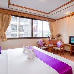 Отель Bangkok Residence 2* Улучшенный номер с двуспальной кроватью фото 3