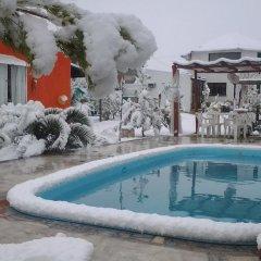 Отель Cabañas El Naranjo Сан-Рафаэль бассейн