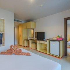 Patong Pearl Hotel 3* Семейный люкс с двуспальной кроватью фото 2