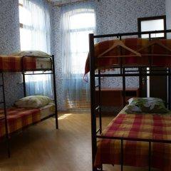 Хостел Кутузова 30 Кровать в общем номере с двухъярусной кроватью фото 23