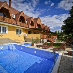 Отель Rajna VillaBridge & SPA Mini Hotel Венгрия, Силвашварад - отзывы, цены и фото номеров - забронировать отель Rajna VillaBridge & SPA Mini Hotel онлайн бассейн фото 2