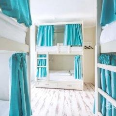 Nereus Hostel near Kremlin Кровать в мужском общем номере двухъярусные кровати фото 10