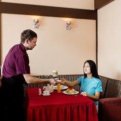 Гостиница Гамильтон питание