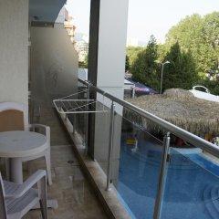 Отель Фламинго Солнечный берег балкон