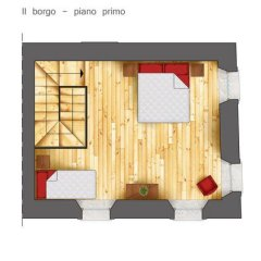 Отель Albergo Diffuso Polcenigo P.Lacchin Апартаменты фото 12