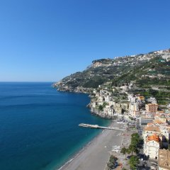 Отель Casa Maria Vittoria Италия, Минори - отзывы, цены и фото номеров - забронировать отель Casa Maria Vittoria онлайн пляж фото 2