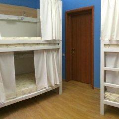 Хостел Плед на Самотёчной Кровать в общем номере с двухъярусной кроватью фото 5