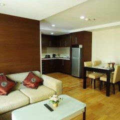 Отель Ninth Place Serviced Residence Улучшенные апартаменты фото 3