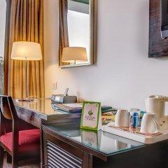 Отель Treebo Tryst Amber Стандартный номер с двуспальной кроватью фото 3