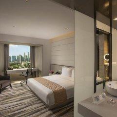 Carlton Hotel Singapore 4* Номер Делюкс с различными типами кроватей фото 2