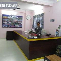 Отель Fine Pokhara Непал, Покхара - отзывы, цены и фото номеров - забронировать отель Fine Pokhara онлайн интерьер отеля фото 2