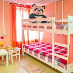 Хостел Панда Кровати в общем номере с двухъярусными кроватями фото 13