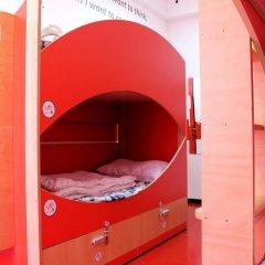 Chillout Hostel Zagreb Кровать в общем номере с двухъярусной кроватью фото 2