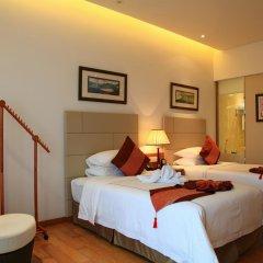 Отель Mingshen Golf & Bay Resort Sanya 4* Стандартный номер с различными типами кроватей фото 7