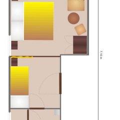 Отель Diamant- Guest House 3* Стандартный номер с различными типами кроватей фото 9