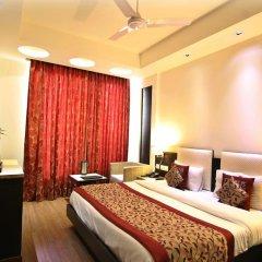 Отель The Prime Balaji Deluxe @ New Delhi Railway Station 3* Номер Делюкс с различными типами кроватей фото 4