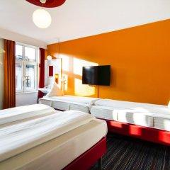 Отель Annex Copenhagen 2* Стандартный номер с различными типами кроватей (общая ванная комната) фото 10
