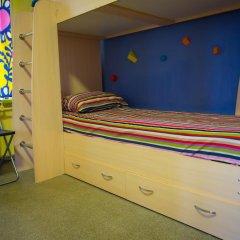 Хостел Гуд Лак Кровать в общем номере фото 40