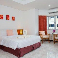 Отель Karon Sunshine Guesthouse & Bar 3* Улучшенный номер с различными типами кроватей фото 8