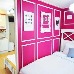 Отель Han River Guesthouse 2* Студия с различными типами кроватей фото 15