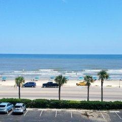 Отель Comfort Suites Galveston США, Галвестон - отзывы, цены и фото номеров - забронировать отель Comfort Suites Galveston онлайн пляж