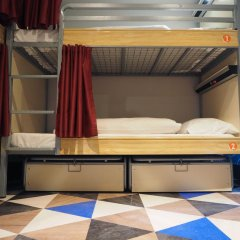 Отель St Christopher's Liverpool Street Кровать в общем номере с двухъярусной кроватью фото 6