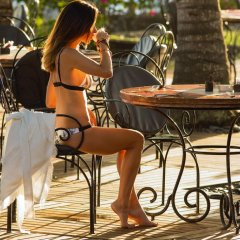 Отель Shandrani Beachcomber Resort & Spa All Inclusive питание