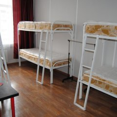 Хостел Европа Кровать в общем номере с двухъярусной кроватью фото 9