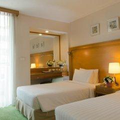 Отель At Ease Saladaeng 4* Номер Делюкс с различными типами кроватей фото 7