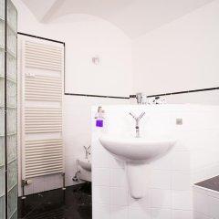 Отель Villa am Park Apartment Германия, Дрезден - отзывы, цены и фото номеров - забронировать отель Villa am Park Apartment онлайн ванная фото 2