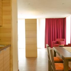 Hotel Appartement Burgund Парчинес в номере