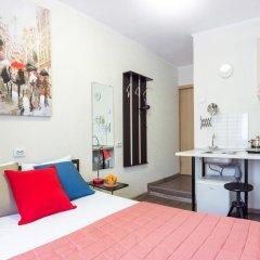 Мини отель Ваша студия Студия разные типы кроватей