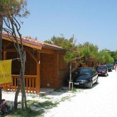 Отель Camping La Pineta Порто Реканати парковка