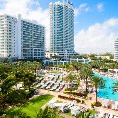 Отель Fontainebleau Miami Beach 4* Номер Делюкс с различными типами кроватей фото 14