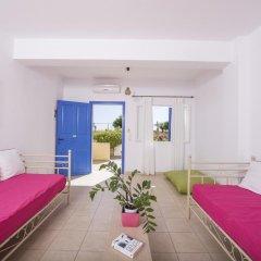 Отель Bella Santorini Studios 4* Стандартный номер с различными типами кроватей фото 5