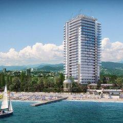 Гостиница Chernomorskaya в Сочи отзывы, цены и фото номеров - забронировать гостиницу Chernomorskaya онлайн пляж фото 2