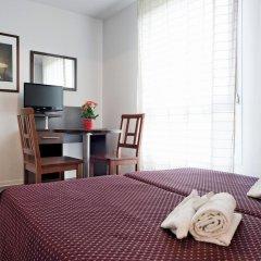 Отель Residhotel les Hauts d'Andilly 3* Студия с различными типами кроватей