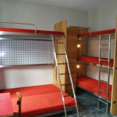Train Hostel Кровать в общем номере с двухъярусной кроватью