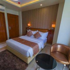 Отель Unima Grand 3* Номер Делюкс с различными типами кроватей фото 9