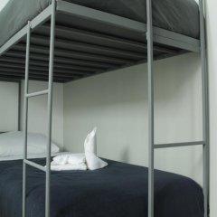 Отель Hostal Be Condesa Кровать в общем номере фото 12