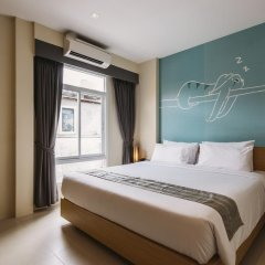TIRAS Patong Beach Hotel 2* Улучшенный номер с различными типами кроватей фото 2