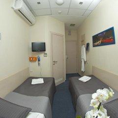 Капсульный Отель Воздушный Экспресс Шереметьево Стандартный номер 2 отдельными кровати фото 12