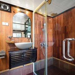 Отель Halong Apricot Cruise 3* Номер Делюкс с различными типами кроватей фото 4