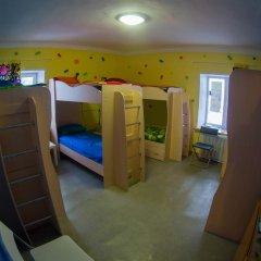 Хостел Гуд Лак Кровать в общем номере фото 15
