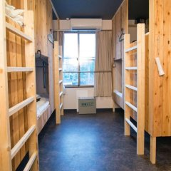 Tonagi Hostel And Cafe Кровать в женском общем номере фото 3